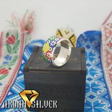 Кільце Українська вишивка