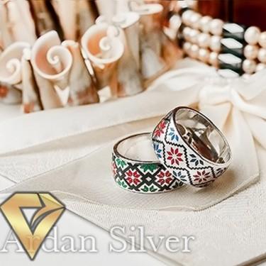 Обручки зі срібла