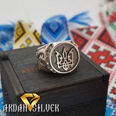 Печатка з гербом України стилізована