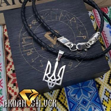Кулон з гербом України, середній