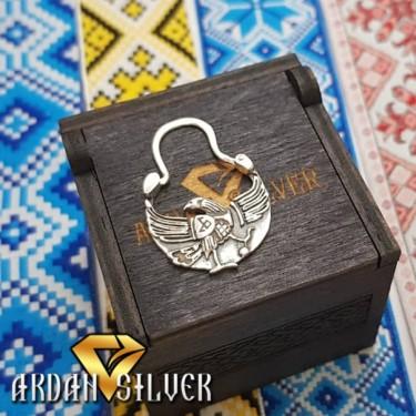 Козацька сережка птах Радогоста